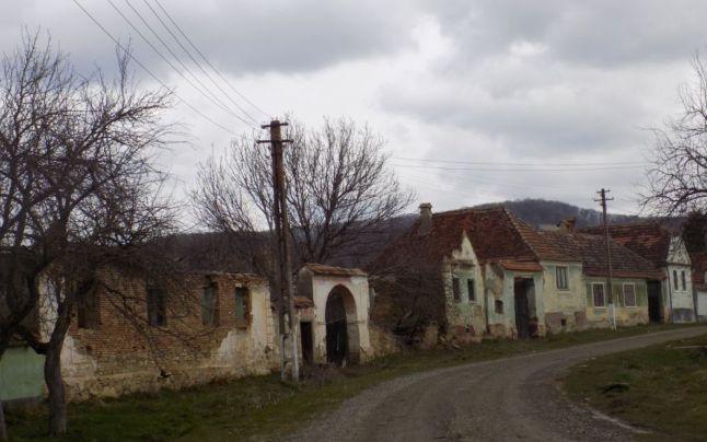 Gherdeal, satul săsesc din județul Sibiu, unde mai locuiesc doar 7 cetățeni